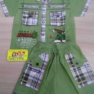 Костюм детский (рубашка и шорты)
